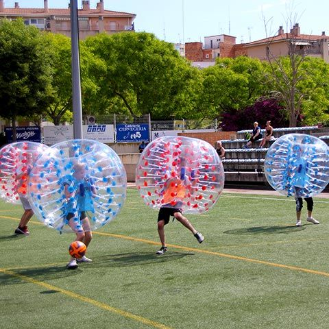 Bubble Football Barcelona - Bubble Soccer Barcelona - Typer spel