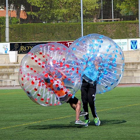 Bubble Football Barcelona - Bubble Soccer Barcelona - Krasch