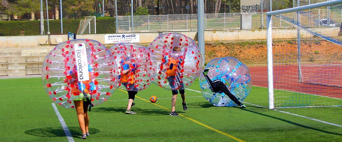 Barcelona Bubble Football #4