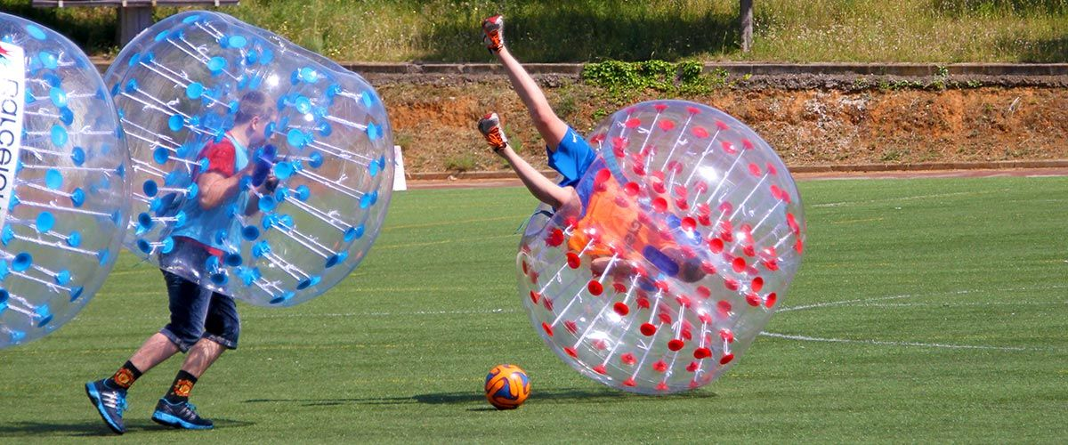 Barcelona Bubble Football #2