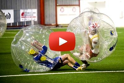 Rolig Bubble Football-match i Norge