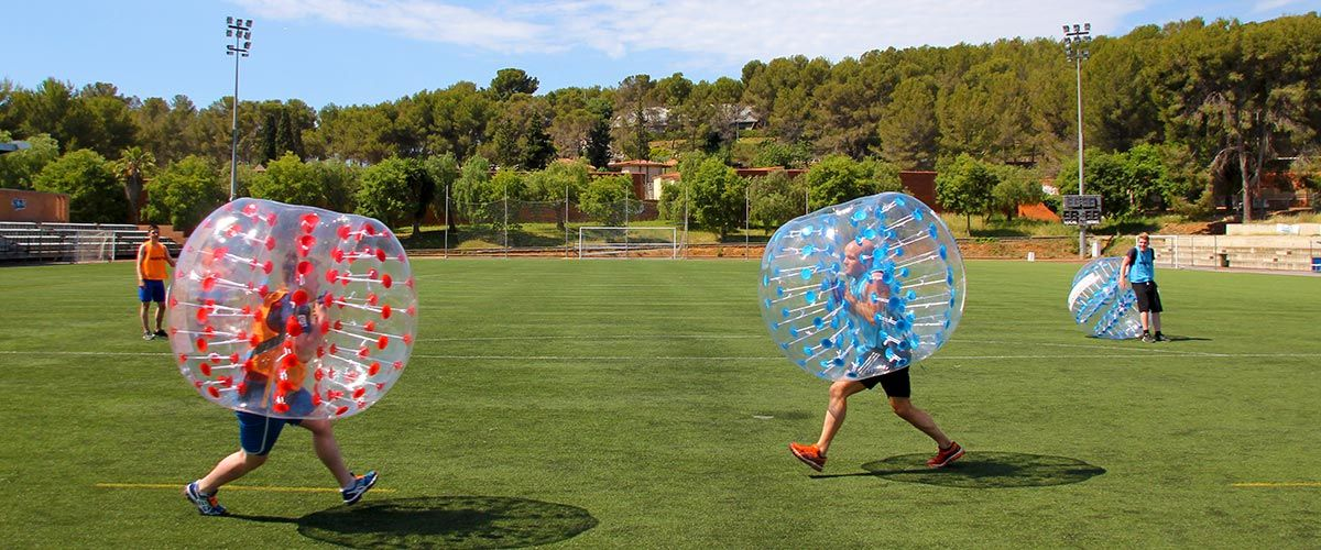 Barcelona Bubble Football #1