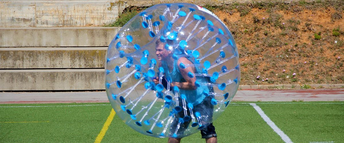Barcelona Bubble Football #5
