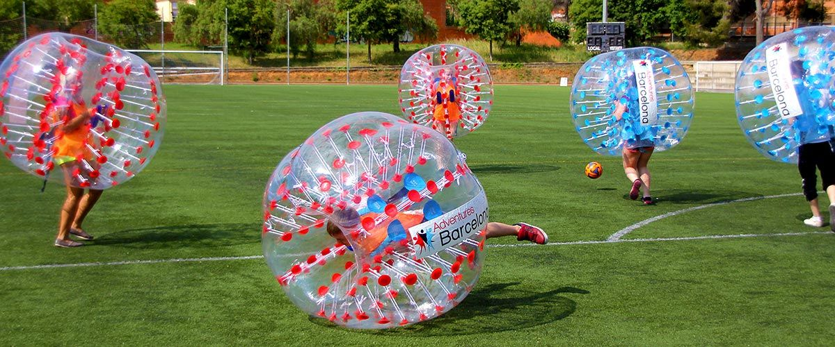 Barcelona Bubble Football #3