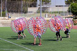 Barcelona Bubble Football - Bubble Ball - Amerikansk Fotboll