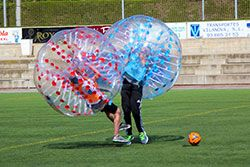 Barcelona Bubble Football - Bubble Ball - Duell