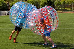 Barcelona Bubble Football - Bubble Ball - Wrestling